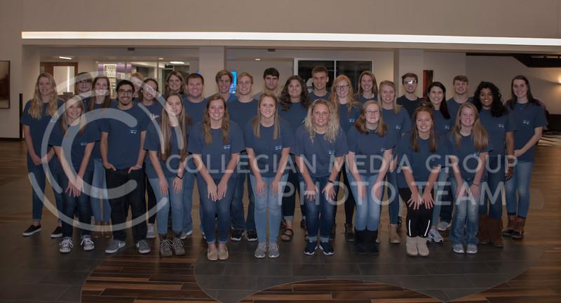 Silver Key Sophomore Honarary on Nov. 7, 2017. (Olivia Bergmeier | Collegian Media Group)