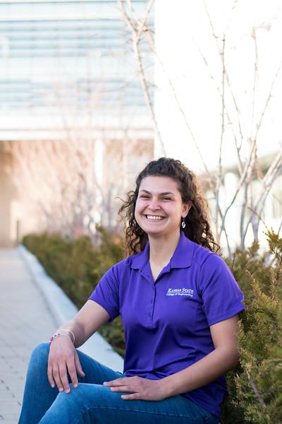 Senior, Ria Brown. (Andrew Kemp   Collegian Media Group)
