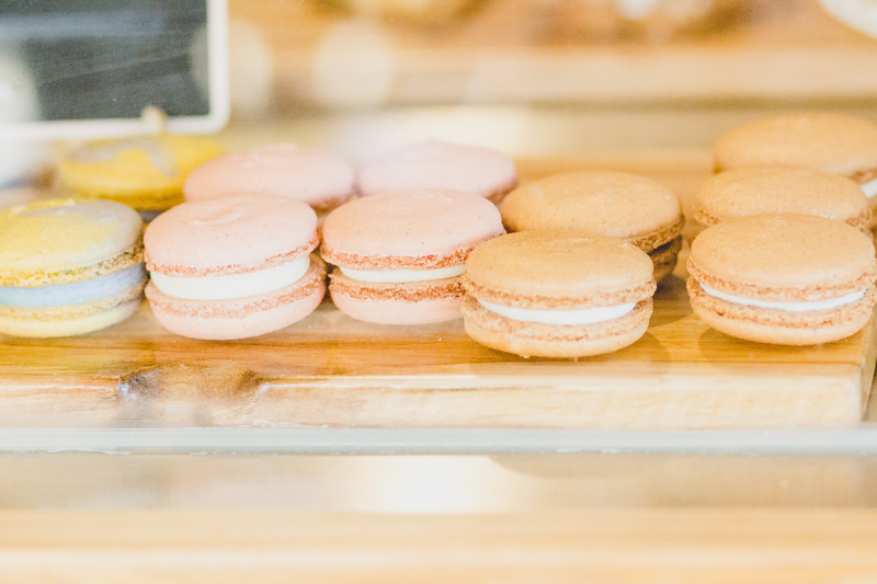 Specialty treats are featured daily from the in-house bakery at Arrow Coffee Co. (Andrea Klepper | Collegian Media Group)