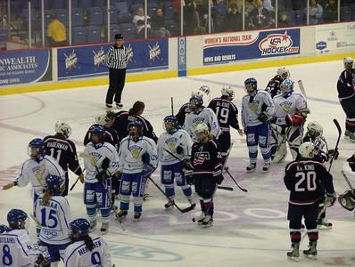 Women's Olympic Hockey - Team USA vs Team Finland 12-14-05