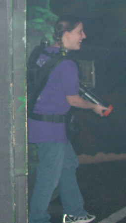 Laser Tag - Booster club event