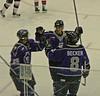 Home vs Titans post game skate 12-10-06-044 Zappala Becker Bala
