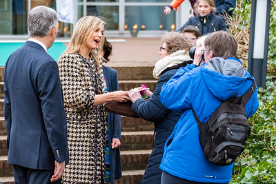 Queen Máxima at the Triodos Bank