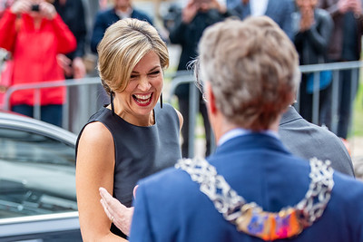Koningin Máxima opent Study Portals Eindhoven