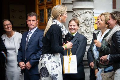 Máxima bij Oratie hoogleraar Prins Claus Leerstoel