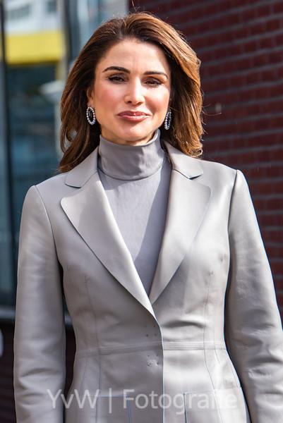 Koningin Rania Staatsbezoek Nederland