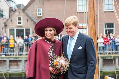 Máxima en Willem-Alexander streekberzoek Eemland