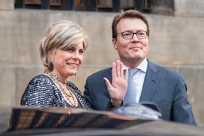 Prinses Laurentien en Prins Constantijn
