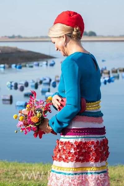 Máxima draagt Claes Iversen