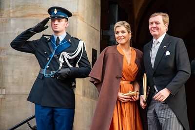 King Willem-Alexander and Queen Máxima