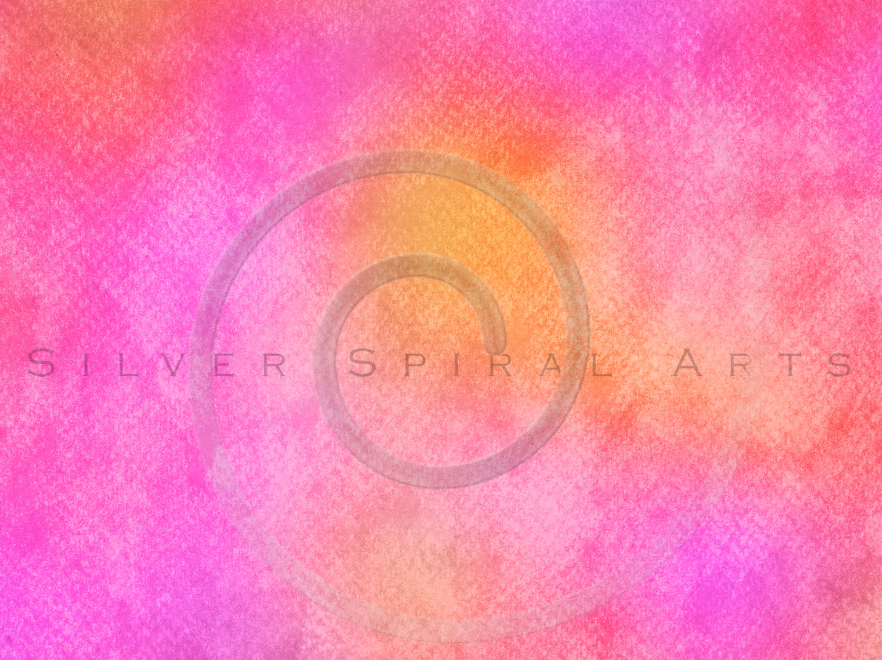 Red Pink Orange Yellow Watercolor Paper Texture Background