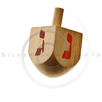 hanukkah dreidel isolated
