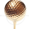 gold golf ball