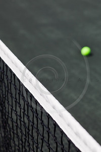 tennis court with net and ball background