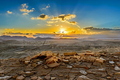 Mitzpe Ramon sunset
