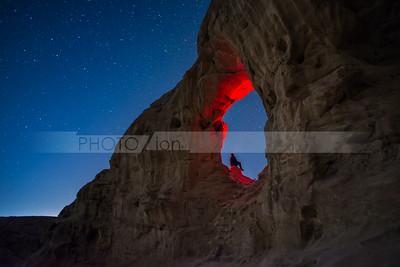 Stargazing in Timna