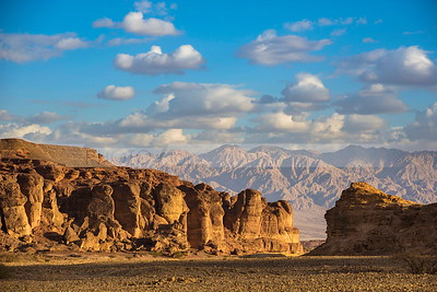 Solomon's Pillars (Mines) in Timna Valley