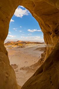 Desert arch at Timna Park, Eilat Mountains