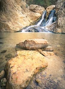 Ein Bokek waterfall