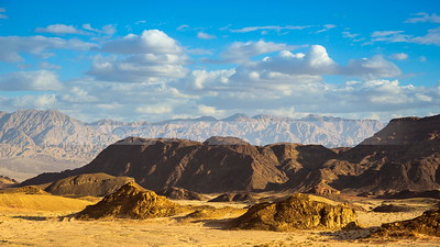 Timna Valley and the Mountains of Moab