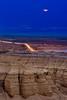Moon over the Dead Sea