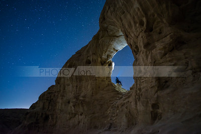 Stargazing in Timna