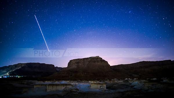Stars over Masada