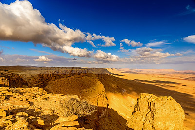 Clouds over Mitzpe Ramon