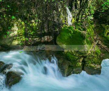 Banyas Stream, Nahal Hermon - Golan Heights, Israel