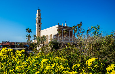 St Peters Church in Jaffa