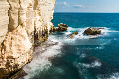 Rosh Hanikra cliffs, Northern Israel