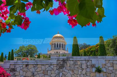 Shrine of the Báb, Bahai temple in Haifa, Israel