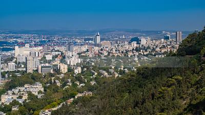 View of Haifa from Mount Carmel