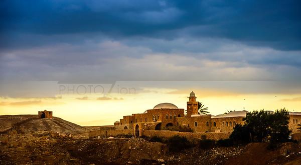 Nabi Musa - Islamic structure in the Judean Desert