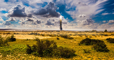 Solar thermal power plant, Negev Desert