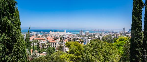 Panoramic view of Haifa, Israel
