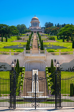 Bahai Gardens terraces, Haifa, Israel