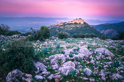 Nimrod Fortress in the Golan Heights, Israel