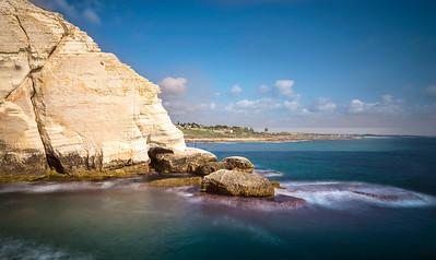 Rosh Hanikra cliffs; Western Galilee Israel