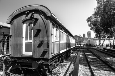 Train Carriage at the Old Jaffa Train Station