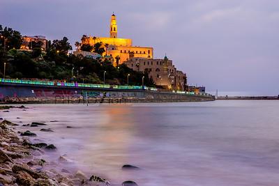 Old Jaffa at dusk