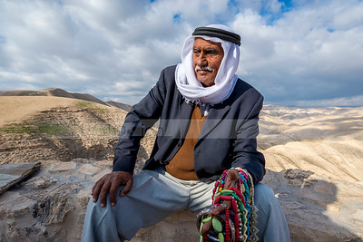 Bedouin man (Editorial use only)