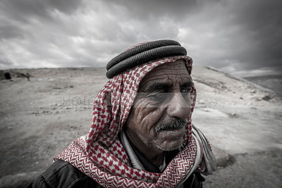 Bedouin man in the desert