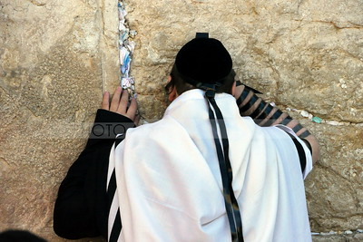 Jewish Man at the Western Wall