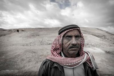 Bedouin man in the desert