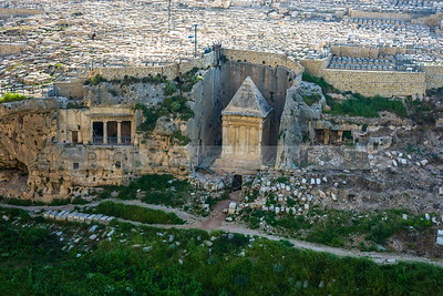 Zacharias' Tomb in Kidron Valley
