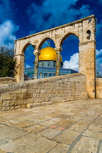 Dome of the Rock, Temple Mount Jerusalem