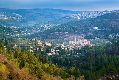 Judean Hills and Ein Karem