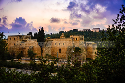 Monastery of the Cross at sunset, Jerusalem
