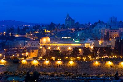 Al Aqsa Mosque and Mount Zion